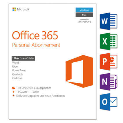 Office 365 Personal, Deutsch