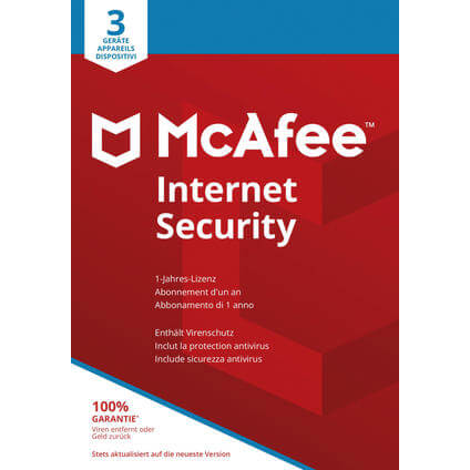 McAfee Internet Security 3 User 2018