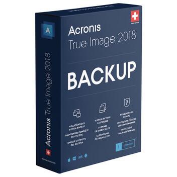 ACRONIS True Image Standard 2018 Swiss (DFI)