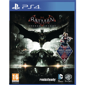 BatmanArkhamKnight PS4 DF