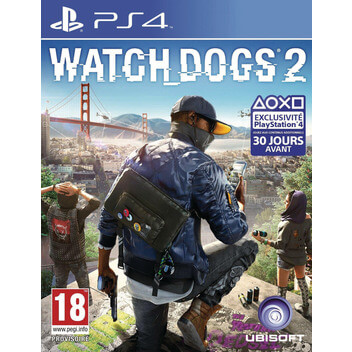 WatchDogs2 San Franciscoco PS4 DFI