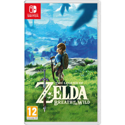 The Legend of Zelda: BotW Switch DE