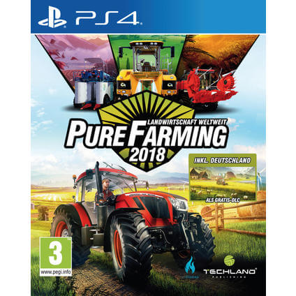Pure Farming 2018 Day One Edition PS4 DE