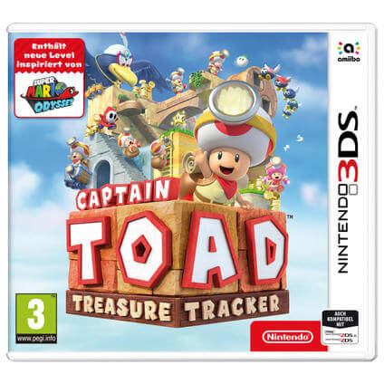 Captain Toad: Treasure Tracker 3DS IT