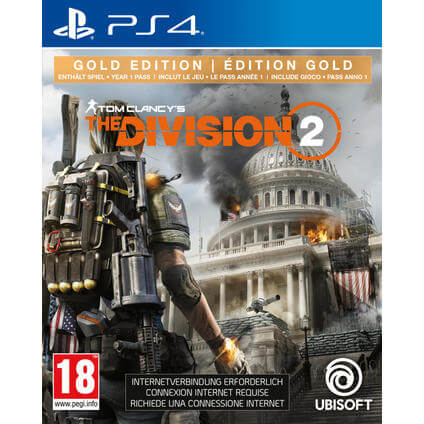 The Division 2 Gold Edition PS4 DFI