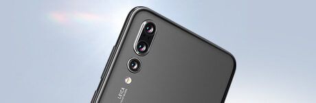 Markenseite - Huawei - Text bild links P20