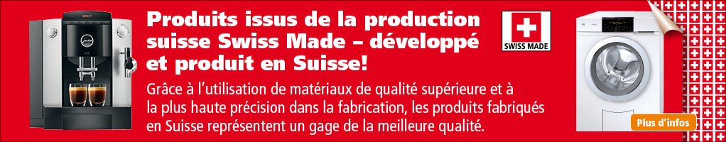 Produits issus de la production suisse – Swiss-Made