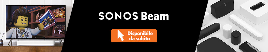 Sonos Beam disponibile da subito