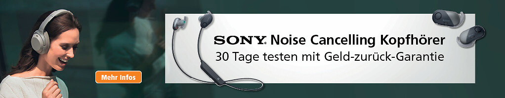 Sony Noise Cancelling 1022x200 D