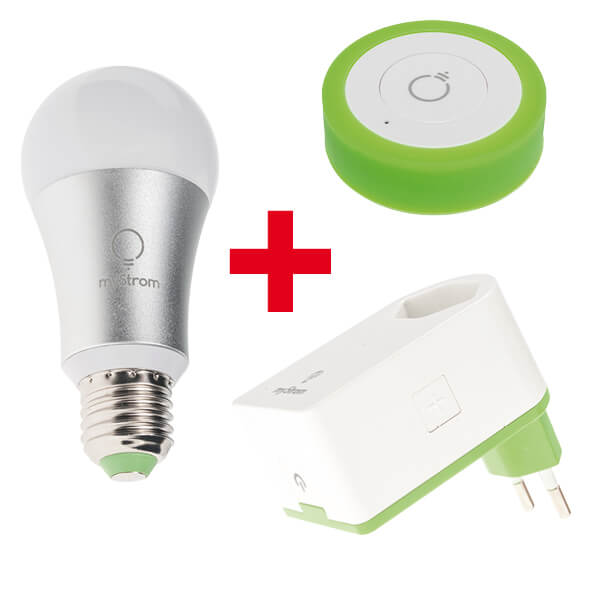 WiFi Bulb + WiFi Energy Switch 2 + WiFi Button